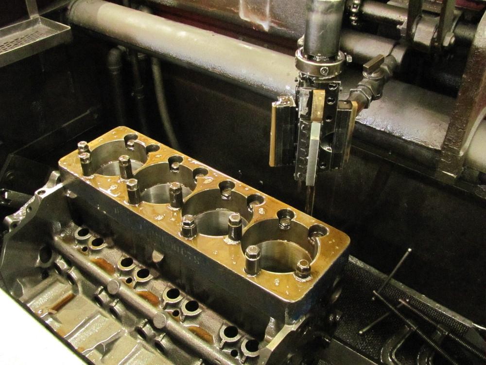 Professional Cylinder Block Prep