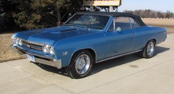 Bill's '67 Chevelle